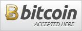 Wir akzeptieren als Zahlungsmittel Bitcoins